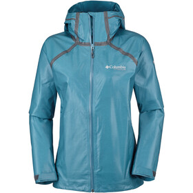 Columbia OutDry Ex Reign Chaqueta Mujer, siberia heather